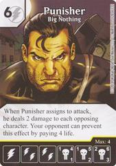 Punisher - Big Nothing (Die & Card Combo)
