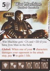 War Machine - Combat Comrade (Die & Card Combo)
