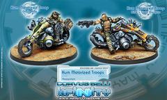 Kum Motorized Troops (280466-0467)