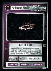 Bajoran Warship