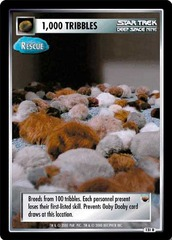 1,000 Tribbles (rescue)