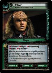 B'Etor, Romulan Conspirator