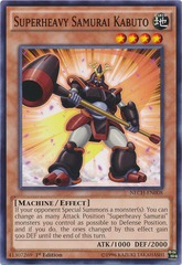 Superheavy Samurai Kabuto - NECH-EN008 - Common - Unlimited Edition