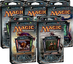 All 5 Rise of the Eldrazi Intro Packs on Ideal808