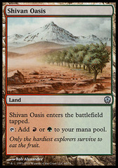 Shivan Oasis on Channel Fireball