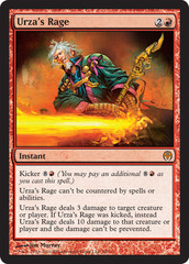 Urza's Rage on Channel Fireball