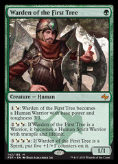Warden of the First Tree - Foil