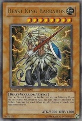 Beast King Barbaros - JUMP-EN032 - Ultra Rare - Promo Edition