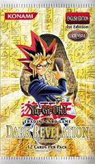 Dark Revelation Volume 1 1st Edition Booster Pack
