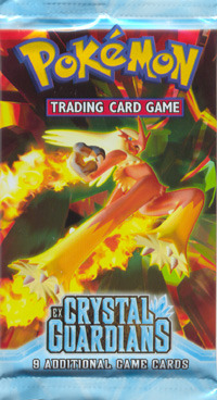 EX Crystal Guardians Booster Pack