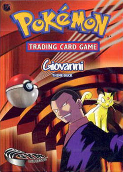 Giovanni Gym Challenge Theme Deck