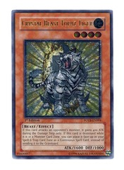 Crystal Beast Topaz Tiger - FOTB-EN004 - Ultimate Rare - 1st Edition