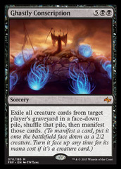 Ghastly Conscription - Foil