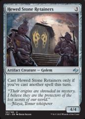 Hewed Stone Retainers