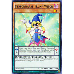 Performapal Trump Witch - SECE-EN006 - Rare - 1st Edition