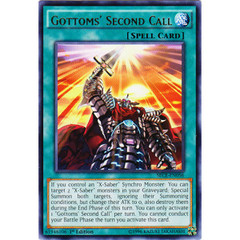 Gottoms' Second Call - SECE-EN056 - Rare - 1st Edition