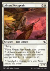 Abzan Skycaptain - Foil on Channel Fireball