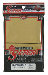 KMC (Super Gold) - Standard Sleeves - 80ct