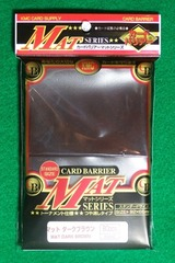 KMC Mat Brown Sleeves (80 ct)