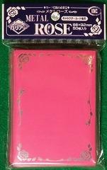 KMC Pink Metal Rose 50 Sleeve Pack