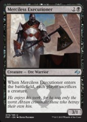 Merciless Executioner - Foil