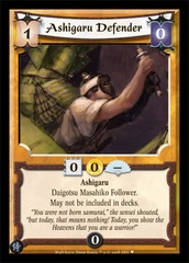 Ashigaru Defender