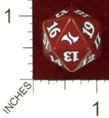 Magic Spindown Die - Fate Reforged - Red