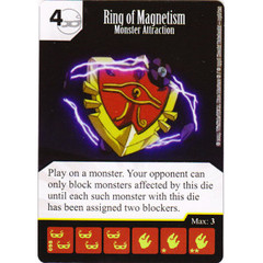 Ring of Magnetism - Monster Attraction (Die & Card Combo)