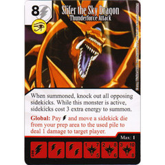 Silfer the Sky Dragon - Thunderforce Attack (Die & Card Combo)