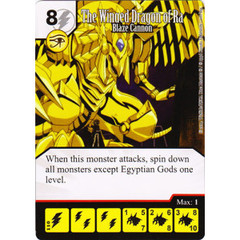 The Winged Dragon of Ra - Blaze Cannon (Die & Card Combo)