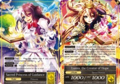 Sacred Princess of Guidance // Lumia, the Creator of Hope [TAT-014-J R] English Foil