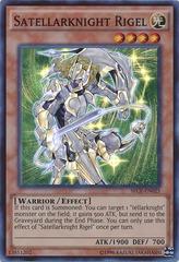 Satellarknight Rigel - SECE-EN025 - Super Rare - Unlimited Edition