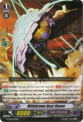 Withdrawn Gear Raven - G-TD01/013EN - TD