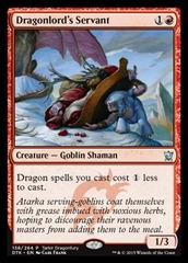 Dragonlord's Servant - Tarkir Dragonfury Promo
