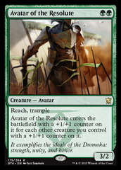 Avatar of the Resolute - Foil on Channel Fireball