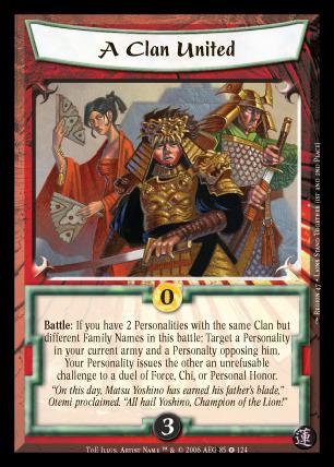 A Clan United