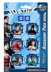 DC Justice League Trinity War Dice and Token Pack