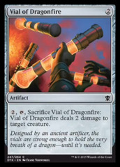 Vial of Dragonfire - Foil