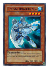 Elemental Hero Bubbleman (1st Edition) - YSDJ-EN017 - Super Rare - 1st