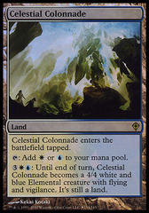 Celestial Colonnade (Worldwake Box Promo) on Channel Fireball