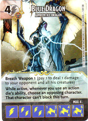 Blue Dragon - Apprentice Dragon (Die & Card Combo)