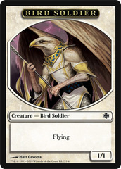 Bird Soldier Token on Channel Fireball