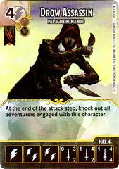 Drow Assassin - Paragon Humanoid (Die & Card Combo)