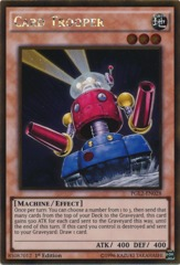 Card Trooper - PGL2-EN028 - Gold Rare - 1st Edition on Channel Fireball