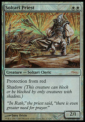 Soltari Priest (MSS Foil - J07) on Channel Fireball