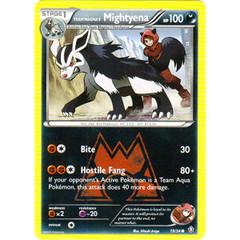 Team Magma's Mightyena - 19/34 - Common