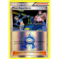 Team Aqua Admin - 25/34 - Uncommon - Reverse Holo