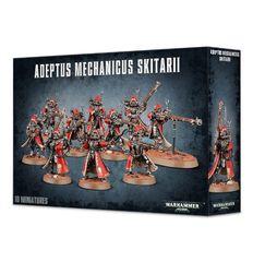 Adeptus Mechanicus Skitarii Rangers/Vanguard Unit