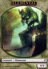 Elemental Token - Green