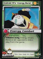 Android 19's Energy Burst